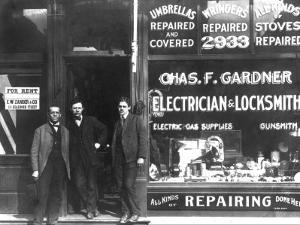Charles F. Gardner, Electrician and Locksmith