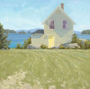 July on the Bay by Charles Fenner Ball