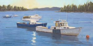 Morning onthe Harbor by Charles Fenner Ball