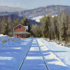 WinterCrossing by Charles Fenner Ball