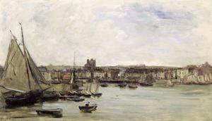 Dieppe, 1875 by Charles-Francois Daubigny