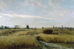 Harvest by Charles-Francois Daubigny