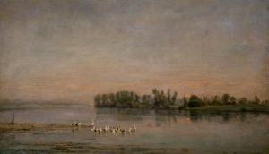 Morning by Charles-Francois Daubigny