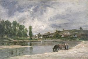On the Loire, 1874 by Charles Francois Daubigny