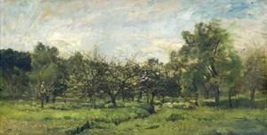 Orchard, C. 1865-69 by Charles Francois Daubigny