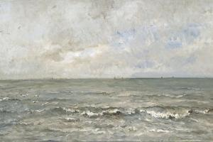 Seascape by Charles Francois Daubigny