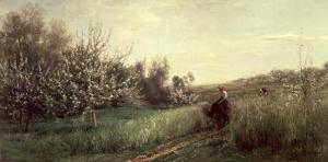 Spring, 1857 by Charles-Francois Daubigny