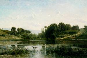 The Pond at Gylieu, 1853 by Charles Francois Daubigny