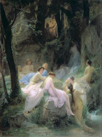 Nymphs Listening to the Songs of Orpheus, 1853