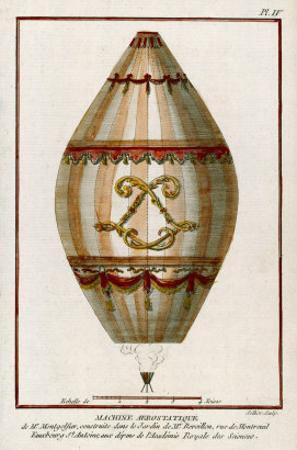 The First Practical Balloon Montgolfier's First Air Balloon Unmanned was Launched by Charles Francois Sellier