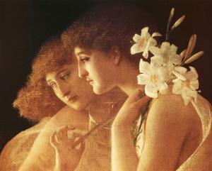 Two Angels by Charles Francois Sellier