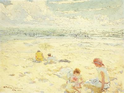 The Beach; La Plage by Charles-Garabed Atamian