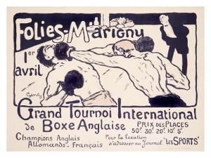 Folies-Marigny, Tournoi de Boxe by Charles Genty