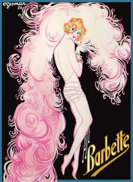 Barbette - Greatest Drag Queen at Folies Bergère by Charles Gesmar