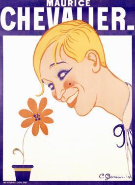 Maurice Chevalier by Charles Gesmar