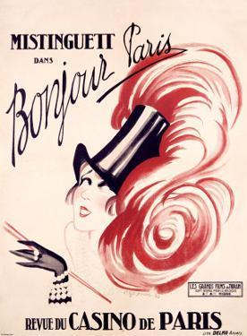 Mistinguett, Bonjour Paris by Charles Gesmar