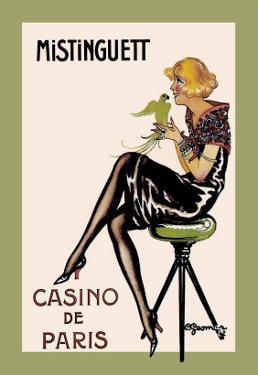 Mistinguett, Casino de Paris by Charles Gesmar
