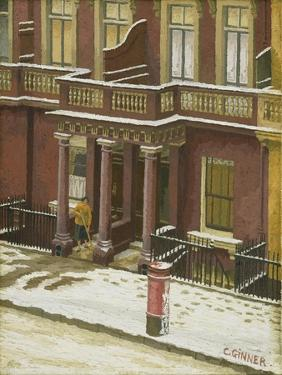 Snow in Pimlico by Charles Ginner