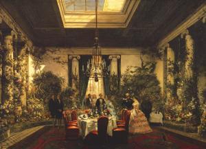 La Salle a Manger de la Princesse Mathil by Charles Giraud