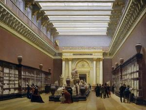 Napoleon III Museum, Pottery Hall at Louvre Museum, 1866 by Charles Giraud