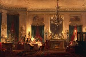 The Drawing Room of Princess Mathilde in Rue De Courcelles in Paris, 1859 by Charles Giraud