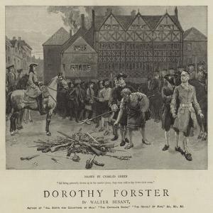 Dorothy Forster by Charles Green