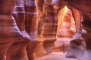 Antelope Canyon, Navajo Tribal Park, Arizona, USA by Charles Gurche