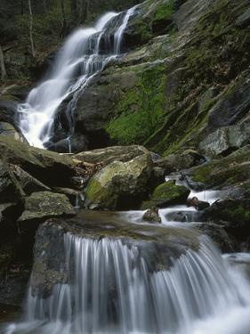 Crabtree Falls, Nelson Co, Virginia, USA by Charles Gurche