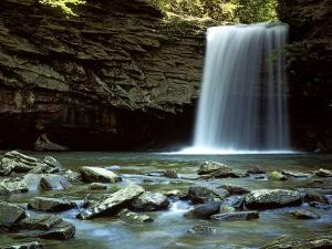 Falls of Little Stony, Jefferson National Forest, Virginia, USA by Charles Gurche