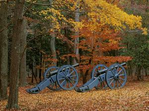 French Artillery, Colonial National Historic Park, Virginia, USA by Charles Gurche