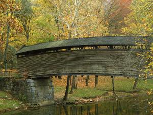 Humpback Covered Bridge, Covington, Virginia, USA by Charles Gurche