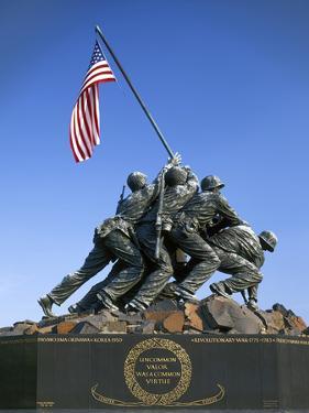 Iwo Jima Memorial, Arlington, Virginia, USA by Charles Gurche