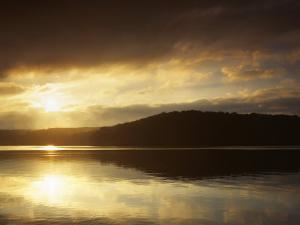 Lake at Sunrise, Lake of the Ozarks, Missouri, USA by Charles Gurche