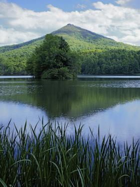Peaks of Otter, Abbott Lake, Blue Ridge Parkway, Virginia, USA by Charles Gurche