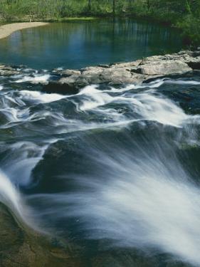 Rocky Falls, Ozark National Scenic Riverways, Missouri, USA by Charles Gurche