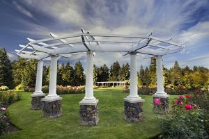 Rose Garden, Manito Park, Spokane, Washington, USA by Charles Gurche