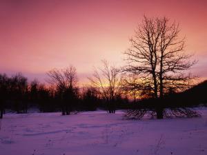 Sunrise at Thorton Gap, Shenandoah National Park, Virginia, USA by Charles Gurche