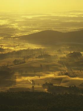 Sunrise from Appalachian Trail, Shenandoah National Park, Virginia, USA by Charles Gurche