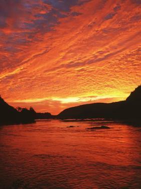 Sunrise on the Potomac River, Loundon County, Virginia, USA by Charles Gurche