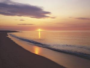 Sunrise over Atlantic, Cape Cod National Seashore, Massachusetts, USA by Charles Gurche
