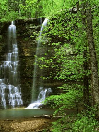 Twin Falls, Buffalo National River, Arkansas, USA by Charles Gurche