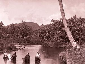 Tahiti, Late 1800s by Charles Gustave Spitz
