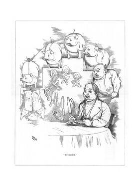 Origin Species, Ch Bennett, Fat Man - Pig by Charles H Bennett