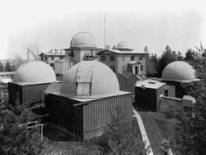 Harvard Observatory Complex by Charles H. Thurston
