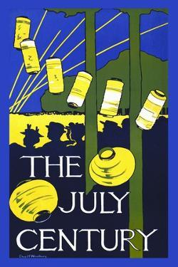 The July Century by Charles H Woodbury