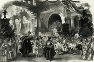 Faust, Act III, Scene II, Paris, 1859 by Charles Haigh Wood