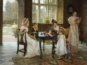 The Time of Roses, c.1901 by Charles Haigh-Wood
