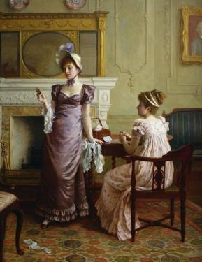 Thoughtful Moments by Charles Haigh-Wood