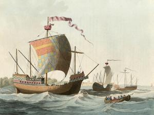 15th Century Ships by Charles Hamilton Smith