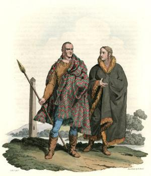 Ancient Irish Costume by Charles Hamilton Smith